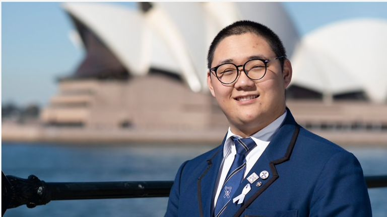 Chinese boarder recognised for helping other international students feel at home in Australia