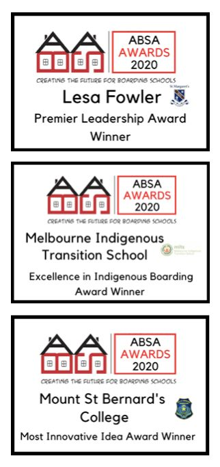 Congratulations to the ABSA Award winners for 2020